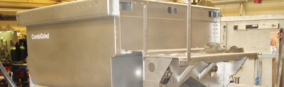 Rustfri stål tank